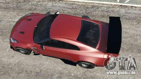 GTA 5 Nissan GT-R (R35) [RocketBunny] v1.1 Rückansicht