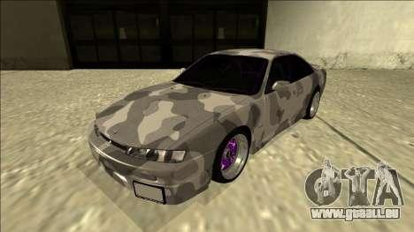 Nissan Silvia S14 Army Drift pour GTA San Andreas