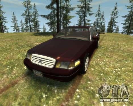 2003 Ford Crown Victoria für GTA 4 linke Ansicht