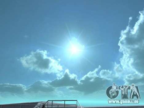 Realistisch Skybox HD 2015 für GTA San Andreas zweiten Screenshot