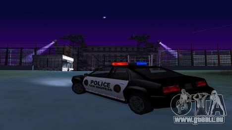 Vier der Polizei Buffalo für GTA San Andreas zurück linke Ansicht
