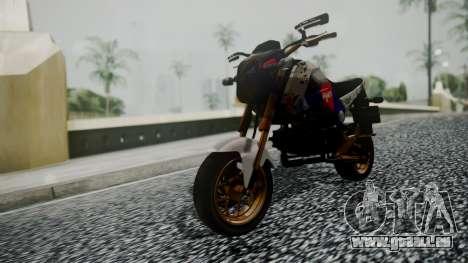 Honda MSX 125C Khmer für GTA San Andreas