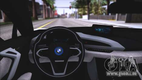 BMW i8 Coupe 2015 pour GTA San Andreas roue