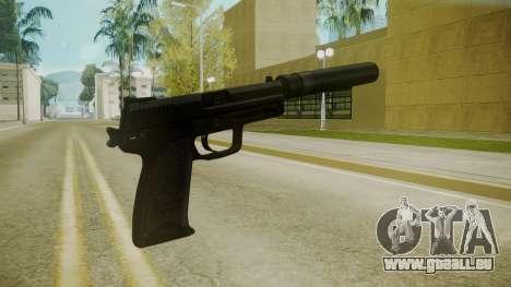 Atmosphere Silenced Pistol v4.3 für GTA San Andreas zweiten Screenshot