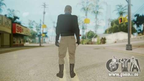 Venom Snake [Jacket] Bast Arm pour GTA San Andreas troisième écran