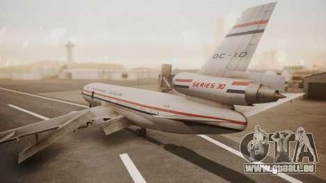 McDonnell-Douglas DC-10 Prototype N1339U pour GTA San Andreas laissé vue