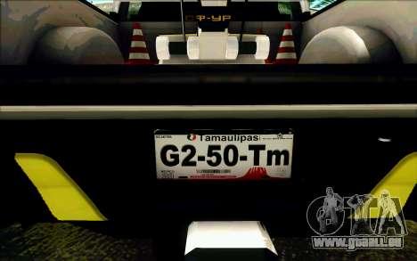 Ford F150 2015 Towtruck für GTA San Andreas Räder