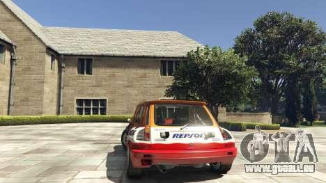 Renault 5 GT Turbo Rally pour GTA 5