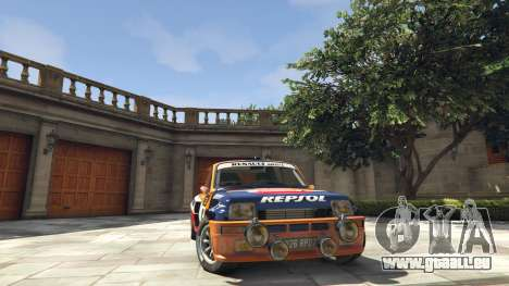 Renault 5 GT Turbo Rally für GTA 5
