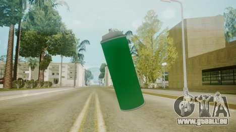 Atmosphere Spraycan v4.3 pour GTA San Andreas deuxième écran