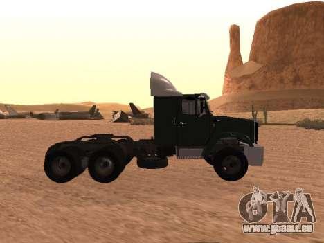 ZIL-133 05A pour GTA San Andreas laissé vue