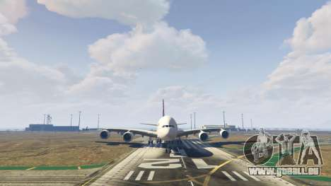 GTA 5 Airbus A380-800 v1.1 sechster Screenshot