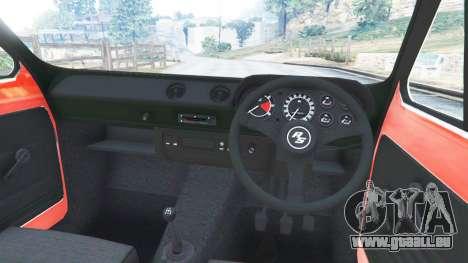 Ford Escort MK1 v1.1 [JE Pistons] pour GTA 5