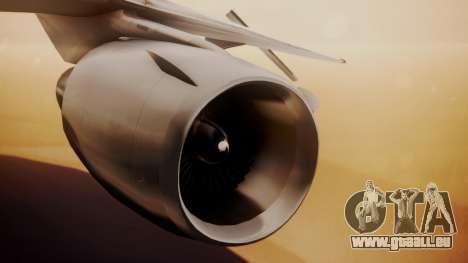 DC-10-10 Western Airlines für GTA San Andreas rechten Ansicht