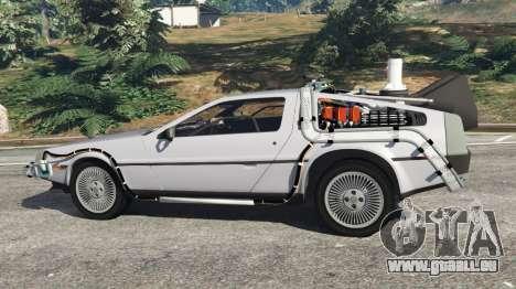 DeLorean DMC-12 Back To The Future v0.4 für GTA 5