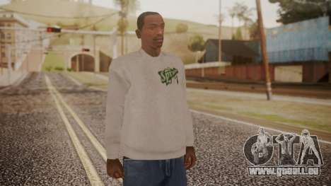 Sprunk Sweater Gray pour GTA San Andreas
