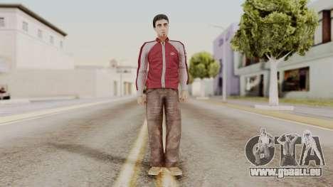 Dwmylc1 CR Style pour GTA San Andreas deuxième écran