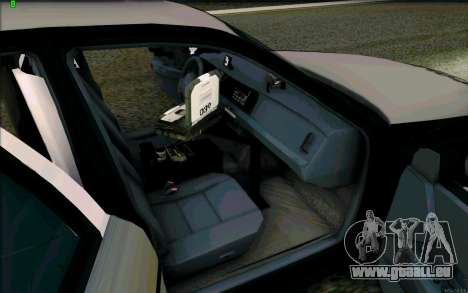 Weathersfield Police Crown Victoria für GTA San Andreas Seitenansicht