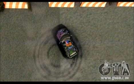 Mini Cooper Gymkhana 6 with Drift Handling pour GTA San Andreas vue de côté