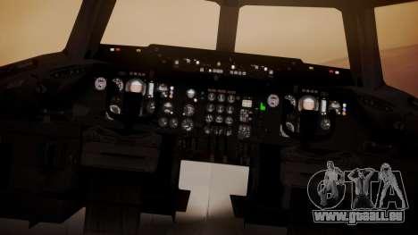 DC-10-30 All-White Livery (Paintkit) pour GTA San Andreas vue arrière