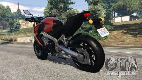 Honda CB 650F v0.9 pour GTA 5
