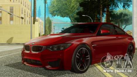 BMW M4 Coupe 2015 pour GTA San Andreas