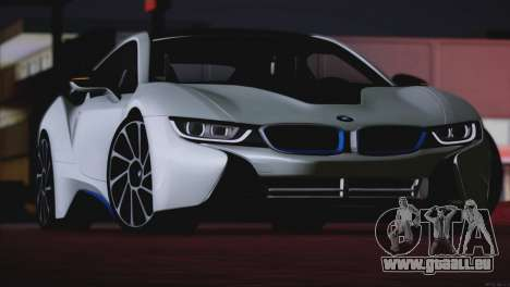 BMW i8 Coupe 2015 pour GTA San Andreas