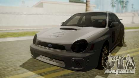 Subaru Impreza WRX GDA für GTA San Andreas Innenansicht