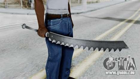 Kaine Sword pour GTA San Andreas troisième écran