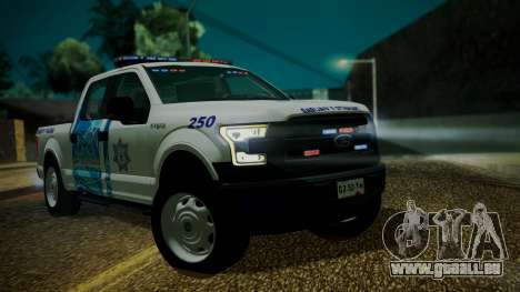 Ford F-150 2015 Transito Vial pour GTA San Andreas