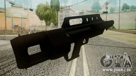 MK3A1 Battlefield 3 pour GTA San Andreas troisième écran