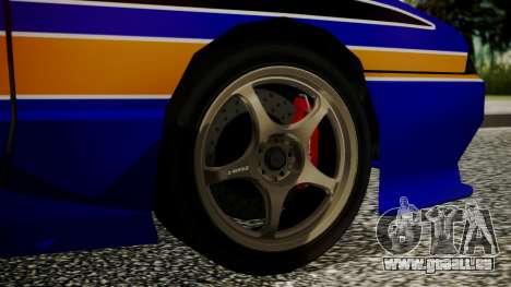 Elegy NR32 without Neon Exclusive PJ pour GTA San Andreas sur la vue arrière gauche