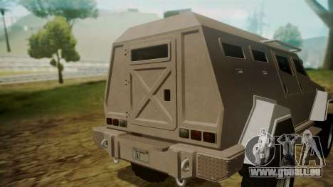 GTA 5 HVY Insurgent für GTA San Andreas rechten Ansicht