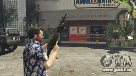 GTA 5 M249 sechster Screenshot