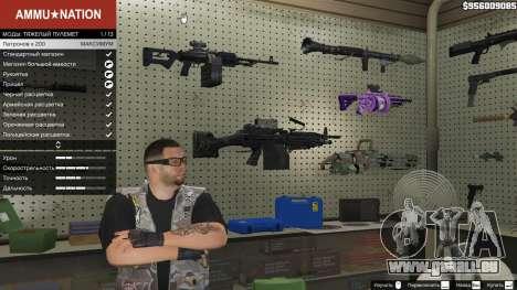 M249 pour GTA 5