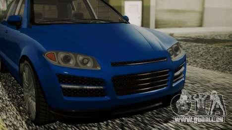 GTA 5 Obey Rocoto IVF pour GTA San Andreas vue de droite