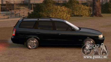 Daewoo Nubira I Spagon 1.8 DOHC 1998 pour GTA 4 est un côté