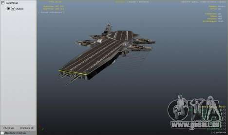 GTA 5 S.H.I.E.L.D. Helicarrier neunter Screenshot
