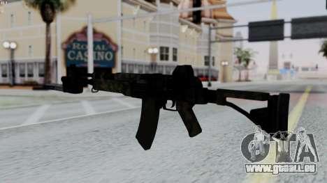 AK-47 from RE6 pour GTA San Andreas deuxième écran