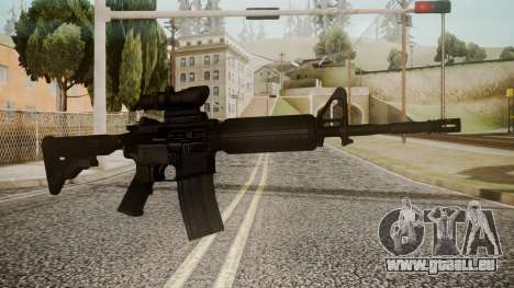 M4 by catfromnesbox pour GTA San Andreas