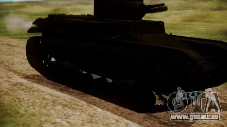T1 E6 pour GTA San Andreas vue de droite