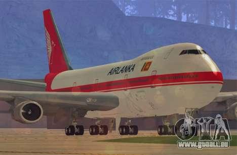 Boeing 747-200 Air Lanka pour GTA San Andreas