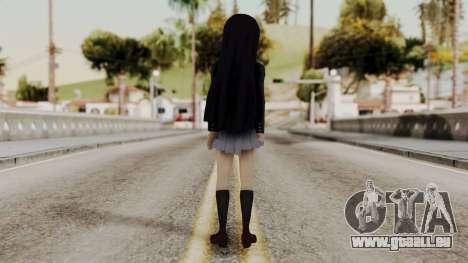 K - ON Remake Mio Akiyama für GTA San Andreas dritten Screenshot