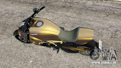 GTA 5 Ducati Diavel Carbon 11 v1.1 vue arrière