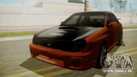 Subaru Impreza WRX GDA für GTA San Andreas Seitenansicht
