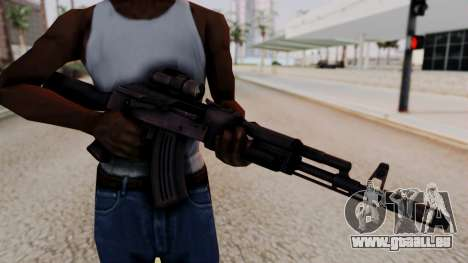 AK-103 from Special Force 2 pour GTA San Andreas troisième écran