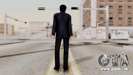 Agent Mulder (X-Files) pour GTA San Andreas troisième écran