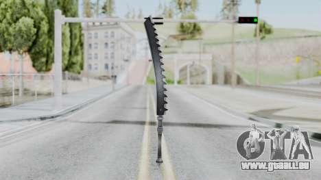 Kaine Sword pour GTA San Andreas deuxième écran