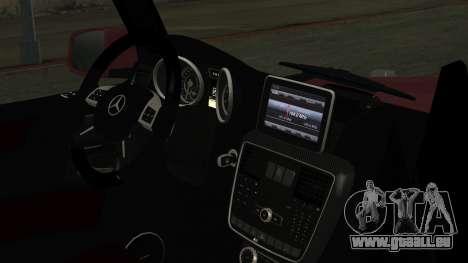 Mercedes-Benz G350 Bluetec für GTA San Andreas rechten Ansicht
