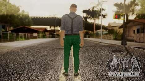 GTA Online Skin Hipster für GTA San Andreas dritten Screenshot